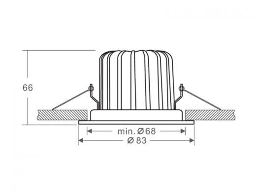 Painel LED COB 68 II